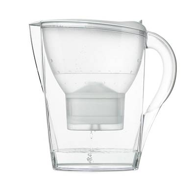Water Filter Photograph - Water Filter Jug by Science Photo Library