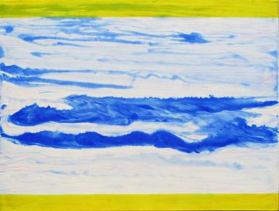 Water Flow Art Print by Tom Hefko