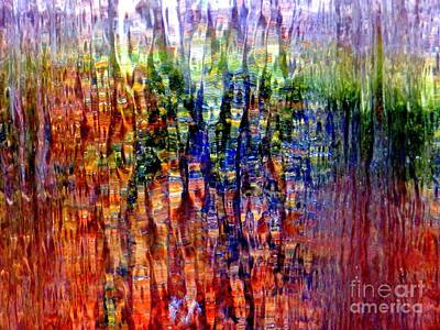 Photograph - Water Fountain Abstract #27 by Ed Weidman