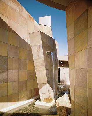Photograph - Water Fountains And Walls by Mary E. Nichols