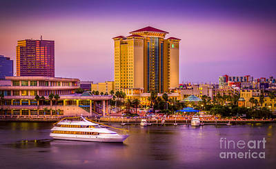 Convention Centers Photograph - Water Front Tampa by Marvin Spates