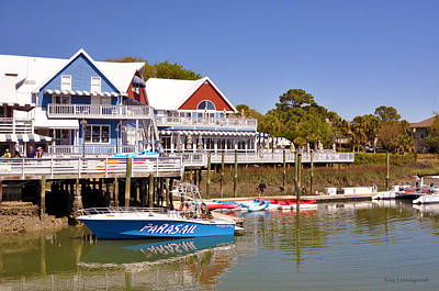 Photograph - Water Front Village by Kay Lovingood