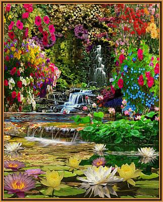 Water Gardens Art Print