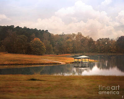 Photograph - Water Gazebo by Jai Johnson