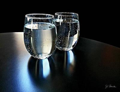 Photograph - Water Glasses by Joe Bonita