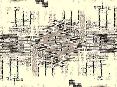 Art Print featuring the photograph Water  Graph by Luc Van de Steeg