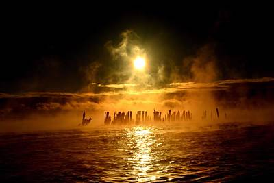Photograph - Water Henge by Donnie Freeman
