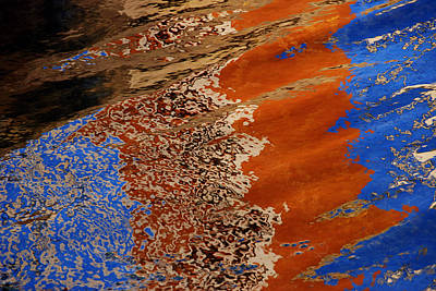 Art Print featuring the photograph Water Impression by Lorenzo Cassina