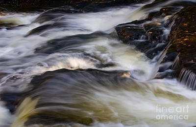 Blurr Photograph - Water In Motion - 31 by Paul W Faust -  Impressions of Light
