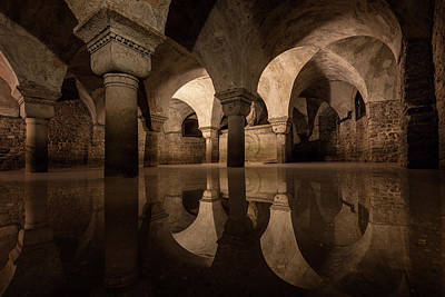 Flood Wall Art - Photograph - Water In The Crypt by Christopher Budny