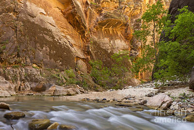 Art Print featuring the photograph Water In The Narrows by Bryan Keil