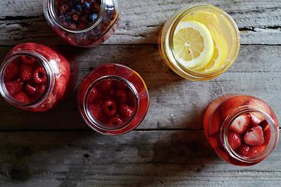 Jar Photograph - Water Kefir by Iain Bagwell
