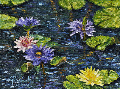 Painting - Water Lilies by Craig T Burgwardt
