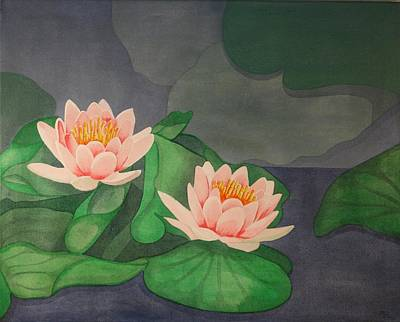Painting - Water Lilies by Paul Amaranto