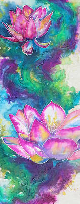 Painting - Water Lilly 2 by Christy  Freeman