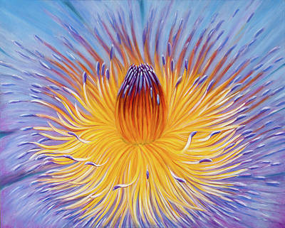 Painting - Water Lilly by Jeannette Tramontano