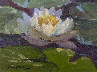 Painting - Water Lily 1 by Diane McClary