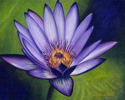 Painting - Water Lily 2 by Jeannette Tramontano