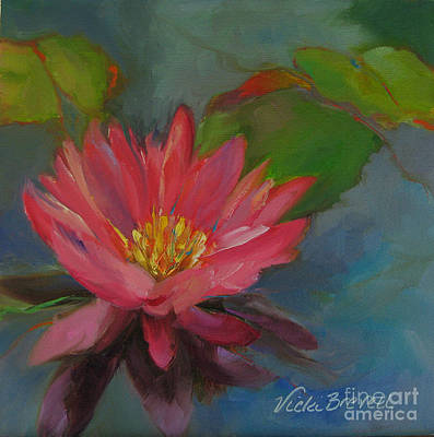 Painting - Water Lily II by Vicki Brevell