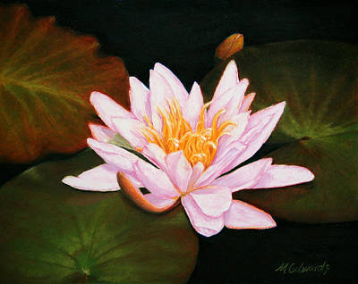 Painting - Water Lily by Marna Edwards Flavell
