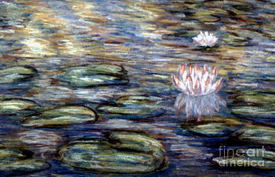 Pastel - Water Lily by Patricia  Tierney