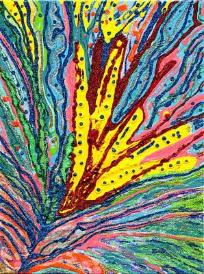 Mixed Media - Water Lily by Strangefire Art       Scylla Liscombe