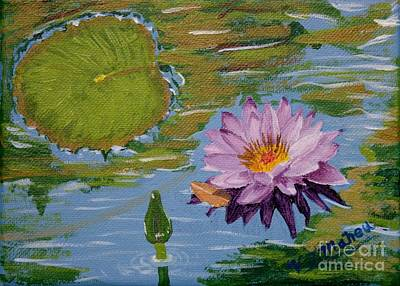 Painting - Water Lily by Vicki Maheu
