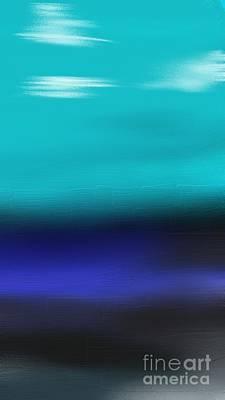 Water Meets Sky Art Print