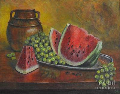 Painting - Water Melon by Jana Baker