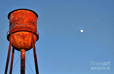 Photograph - Water Moon In Watkinsville Georgia South Of Uga by Reid Callaway
