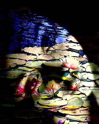 Photograph - Water Nymph by Jodie Marie Anne Richardson Traugott          aka jm-ART