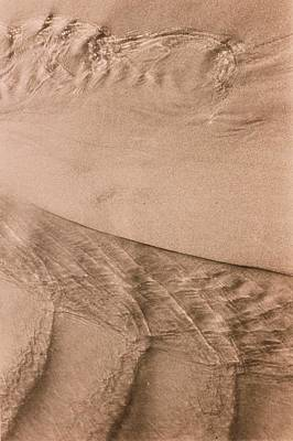 Photograph - Water On Sand by Elspeth Ross