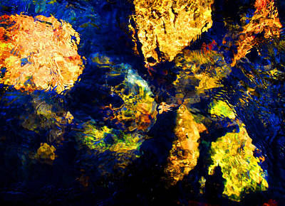 Photograph - Water Painting 3 by Peter Cutler