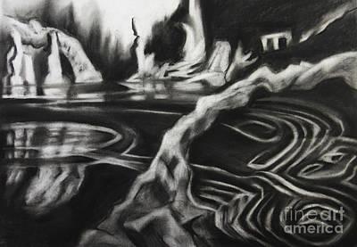 Water Patterns Art Print