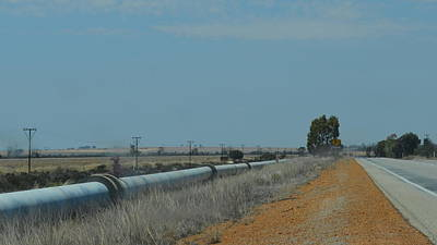 Photograph - Water Pipeline by Cheryl Miller