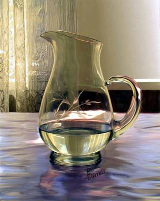 Water Pitcher Art Print by Ric Darrell
