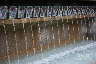 Photograph - Water Play Fountain by Jeanette French