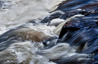 Photograph - Water Power In Ragged Falls Algonquin On by Gerda Grice