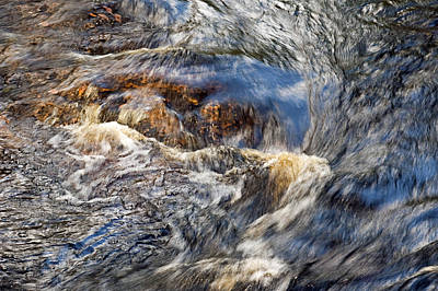 Photograph - Water Rapids Whirlpool by Carolyn Marshall
