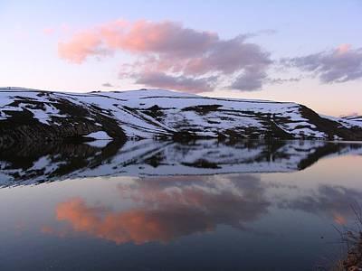 Photograph - Water Reflection 1 by Faouzi Taleb
