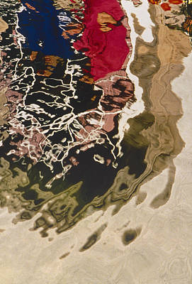 Photograph - Water Reflection by Mark Greenberg