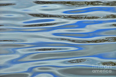 Photograph - Water Reflections 2 by Allen Beatty