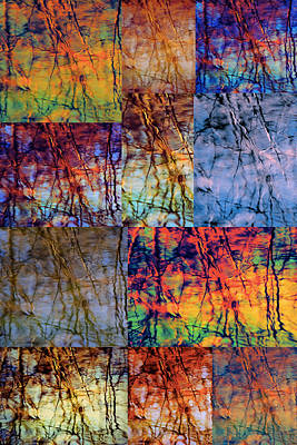 Photograph - Water Reflections Collage by Beth Akerman