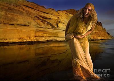 Water Robe Original by Angelika Drake