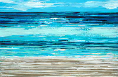 Painting - Water Shimmer by Elizabeth Langreiter