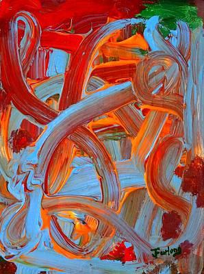 Water Slide Art Print by Jim  Furlong