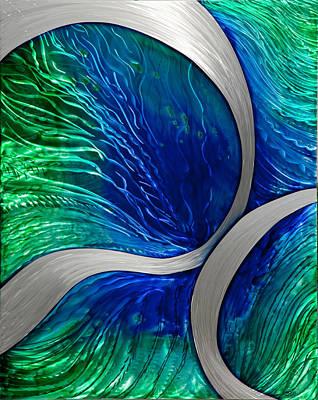 Water Spout Art Print by Rick Roth
