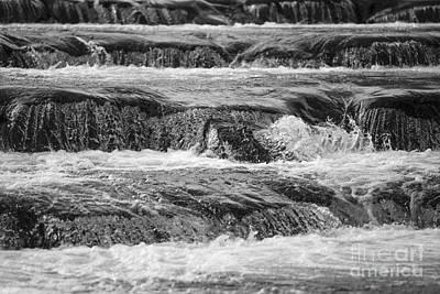 Photograph - Water Stairway by Maurizio Bacciarini