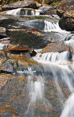 Photograph - Water Steps by Glenn Gordon
