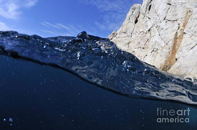 Water Surface Art Print by Sami Sarkis